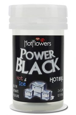 Hot Ball Power Black - Pack 2 Units