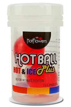 Hot Ball Hot & Ice - Pack 2 Units - Hot Flowers